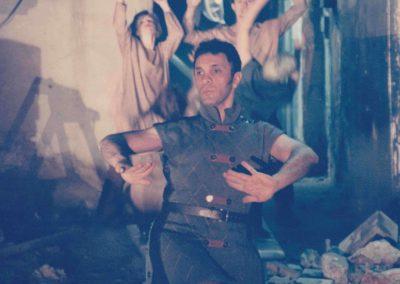 1995-Loud sounds, soft steps and silent cries: Roger Sinha et danseurs @Stephen Hues