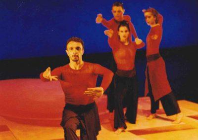1997-Jardin des vapeurs: Roger Sinha, Tom Casey, Isabelle Poirier, Parise Mongrain