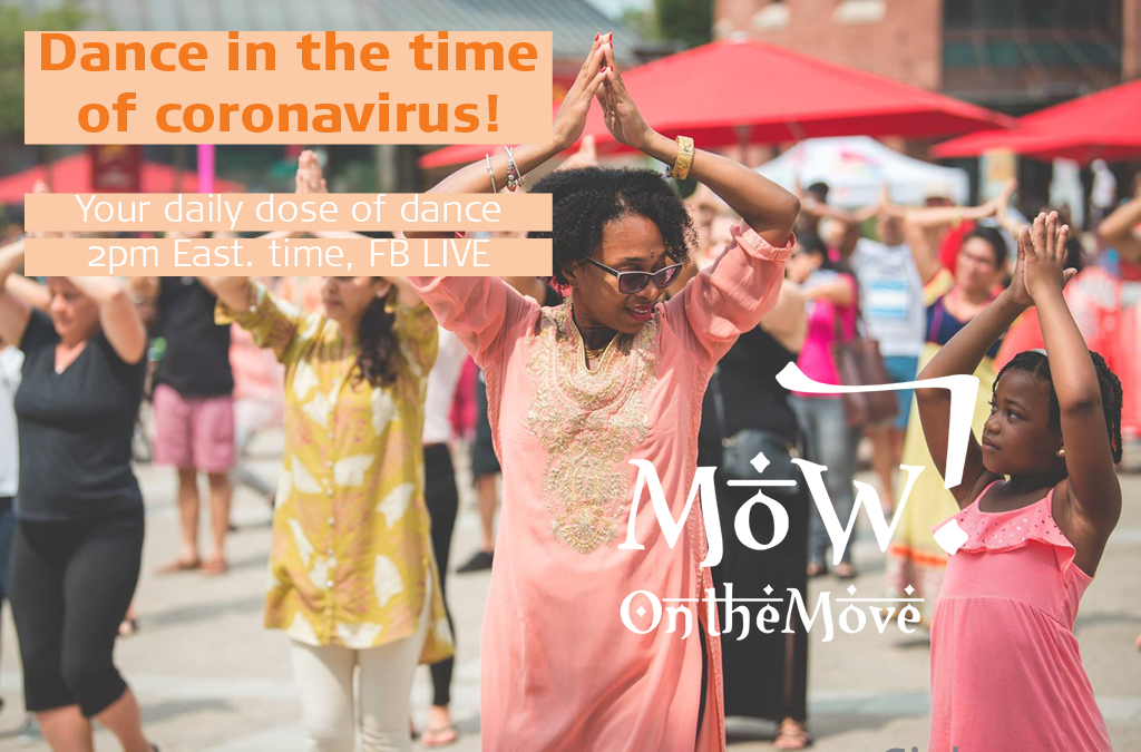 Join Sinha Danse for Live Bollywood style dance lessons in the time of coronavirus