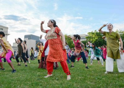 MoW! à Parc-Extension, flashmob danse bollywood 2017