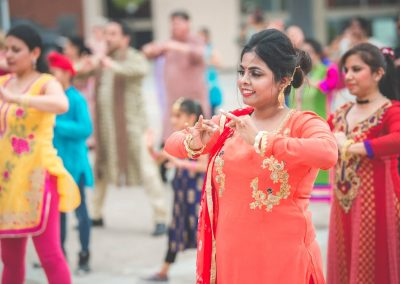 MoW! from Sinha Danse flashmob bollywood Garden Square City of Brampton multicultural intergeneraltional
