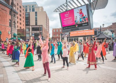 MoW! from Sinha Danse flashmob bollywood Garden Square City of Brampton